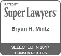 2017Bryan Mintz Super Lawyers