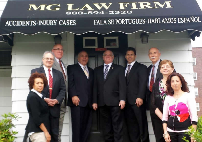 MG Law Firm Elizabeth Workers' Compensation Attorneys staff